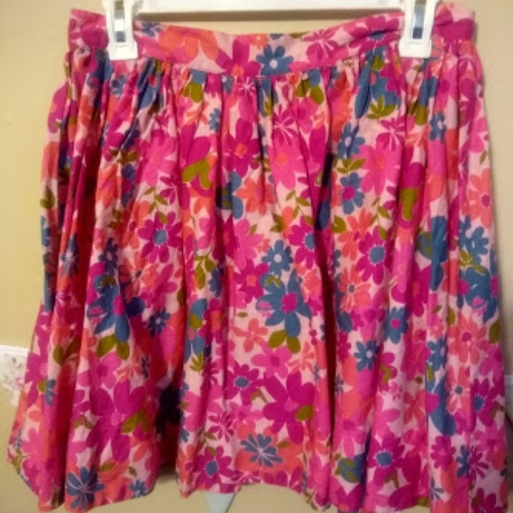 Tracy Feith Dresses & Skirts - Barbie Pink Floral Skirt Tracy Feith